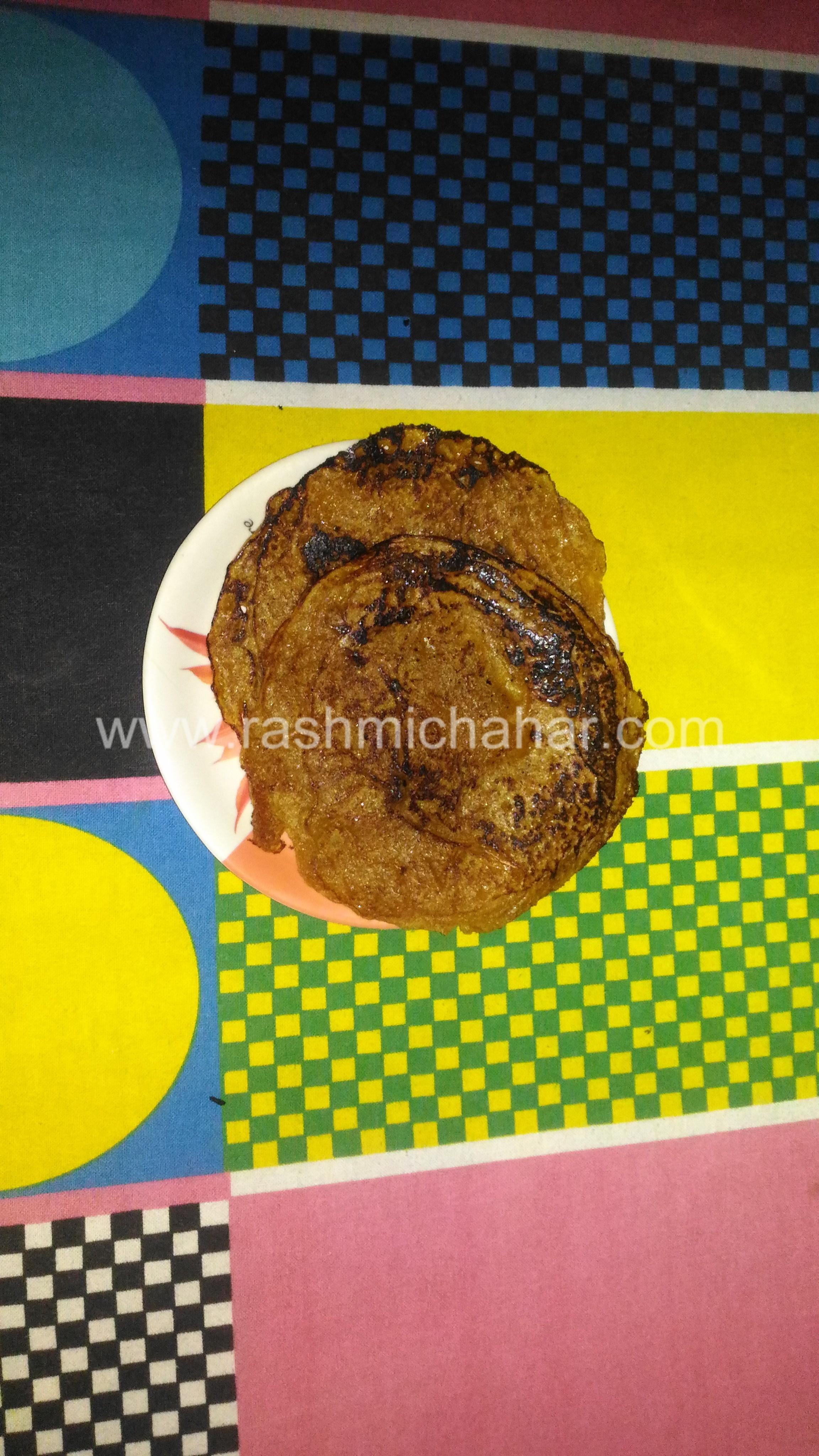 गुड़ के मीठे चीले बनाना | How to make sweet cheela | Meetha cheela using gud(Jaggery)