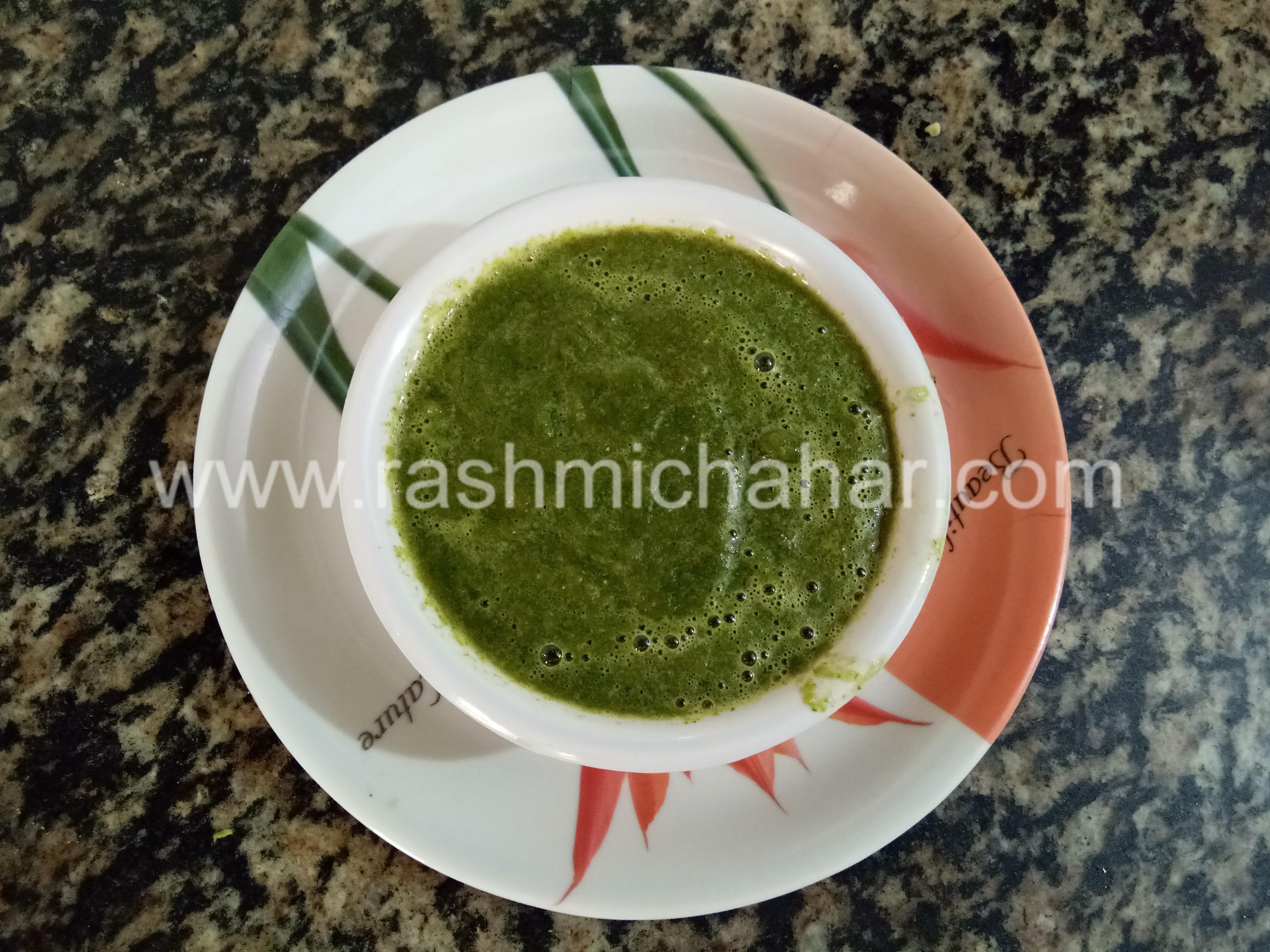 टमाटर हरा धनियां की चटनी बनाना | Tamatar hara dhaniya chutney | Tomato coriander chutney