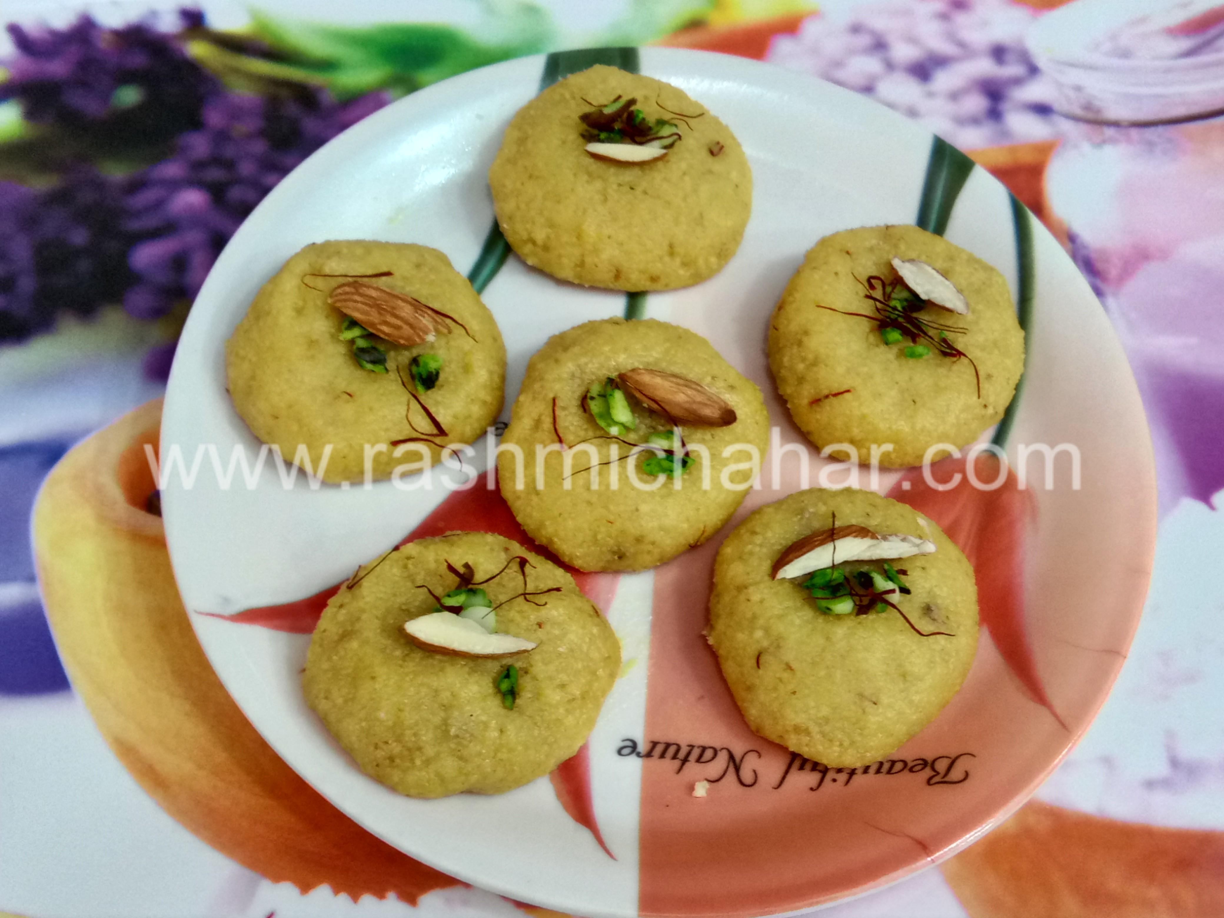 Kesar Peda Saffron Peda by Rashmi Chahar