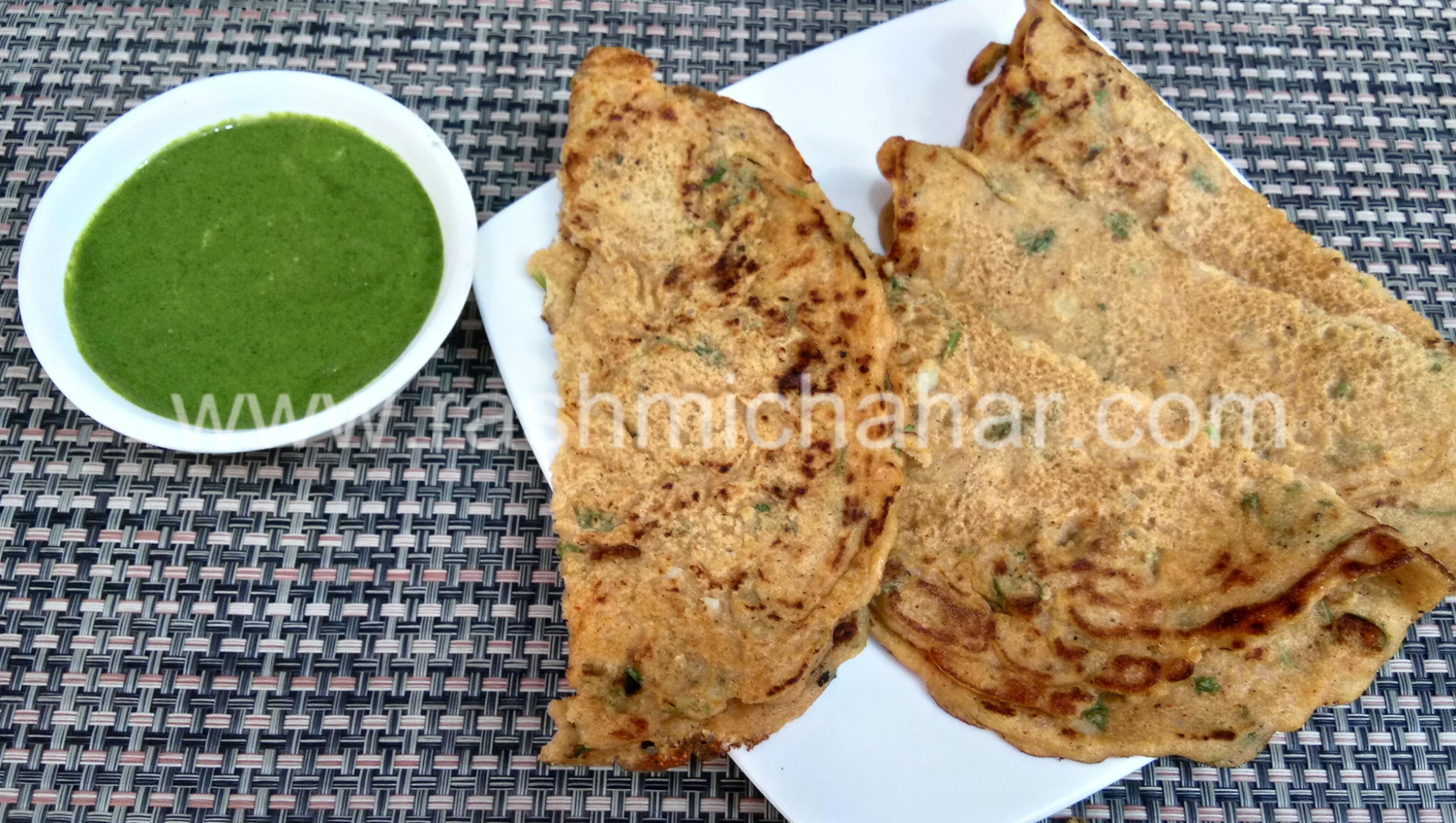 आलू बेसन सूजी चीला | Aloo Besan Suji Cheela Recipe